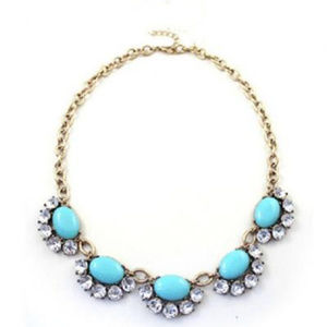 Beautiful Statement Necklace With Beautiful Colors